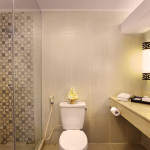 Deluxe Club Cottage ( upper floor ) bathroom