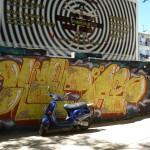 Граффити в Валенсии